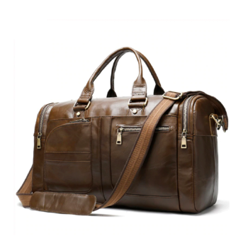 Hand luggage high-qualit leather.