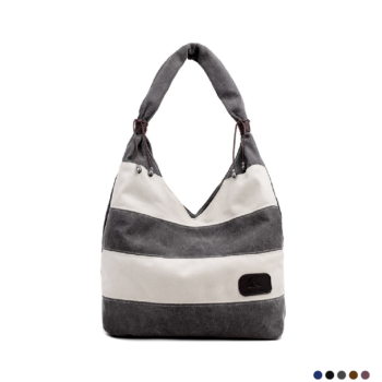 Best striped hobo bag, made with high quality canvas 2020.