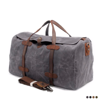 Best large thick canvas travel bag for men 2020.