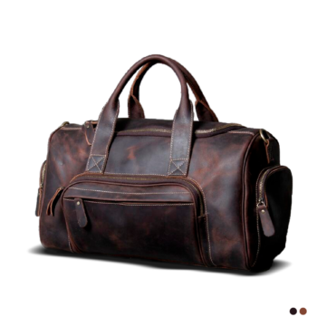 I practice hand luggage with multiple external and internal pockets.
