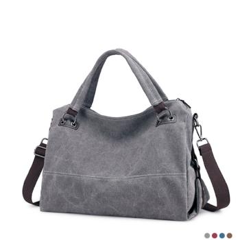 Best casual zipper canvas bag for women 2020.