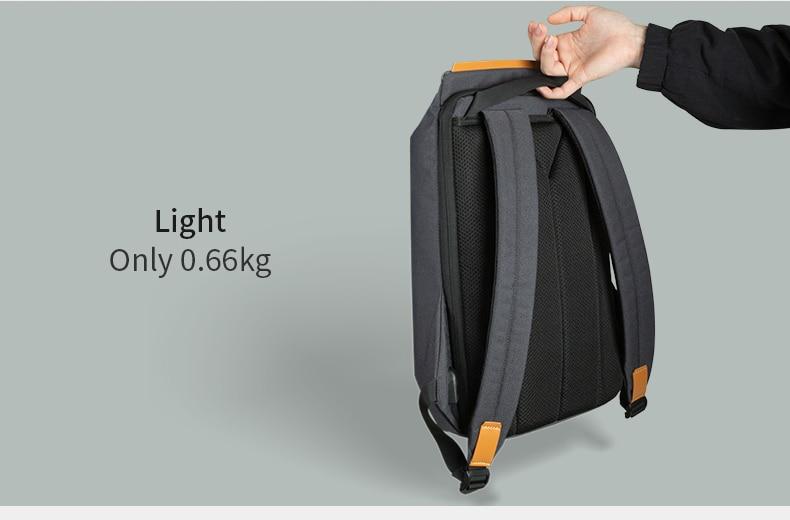 Very resistant waterproof anti-theft backpack.