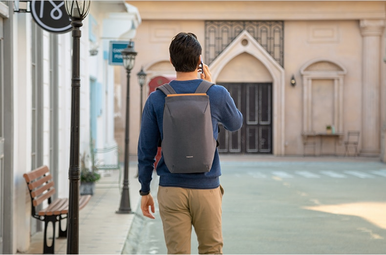 Best backpack with smart design, waterproof with USB port 2020.