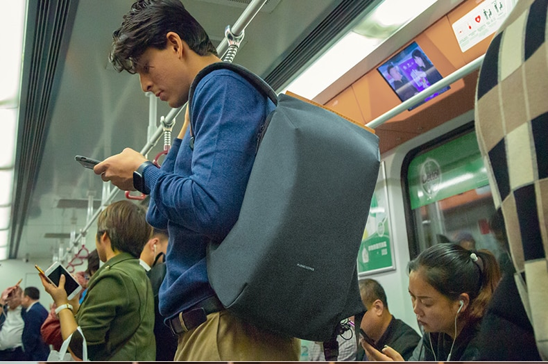 Best backpack with smart design, anti-theft with USB port 2020.