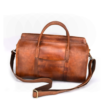 Best hand luggage in high-quality cow leather 2020.